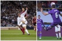 Zinedine Zidane en Nacho Fernandez. © Hollandse Hoogte