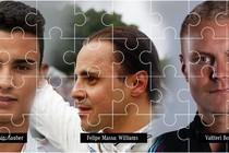 Pascal Wehrlein, Felipe Massa en Valtteri Bottas maken de puzzel compleet. © Twitter Mercedes