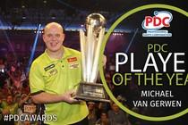 Michael van Gerwen © @OfficialPDC