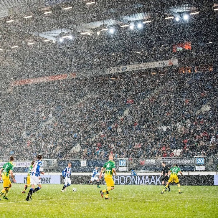 Het is winter in Heeenveen © ANP Pro Shots