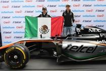 Sergio Pérez en Nico Hulkenberg © AFP