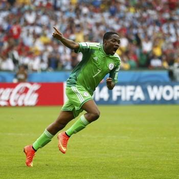 Ahmed Musa scoorde op het WK 2014 tegen Argentinië. © Reuters